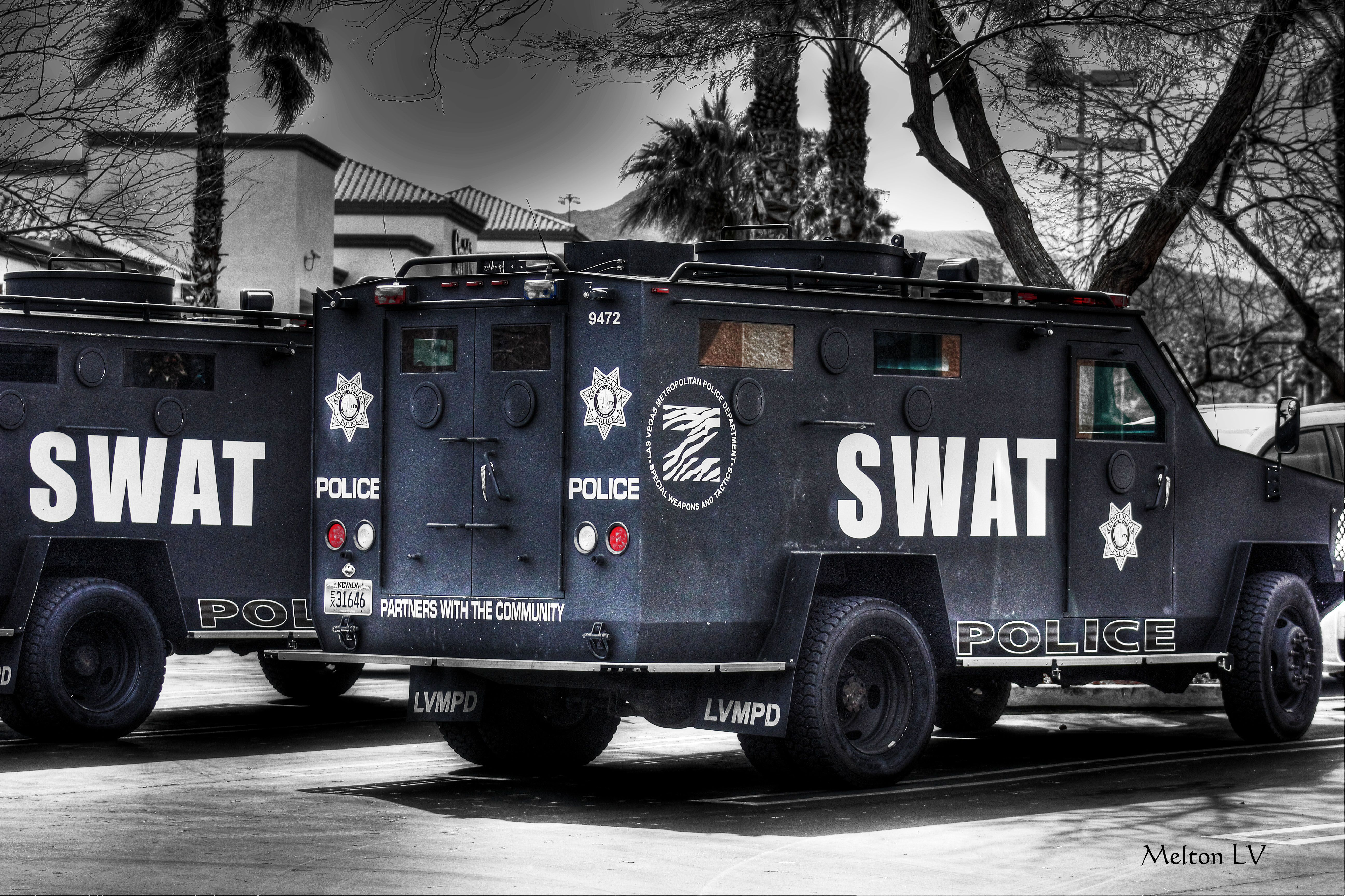 swat trucks police air sea land transportation