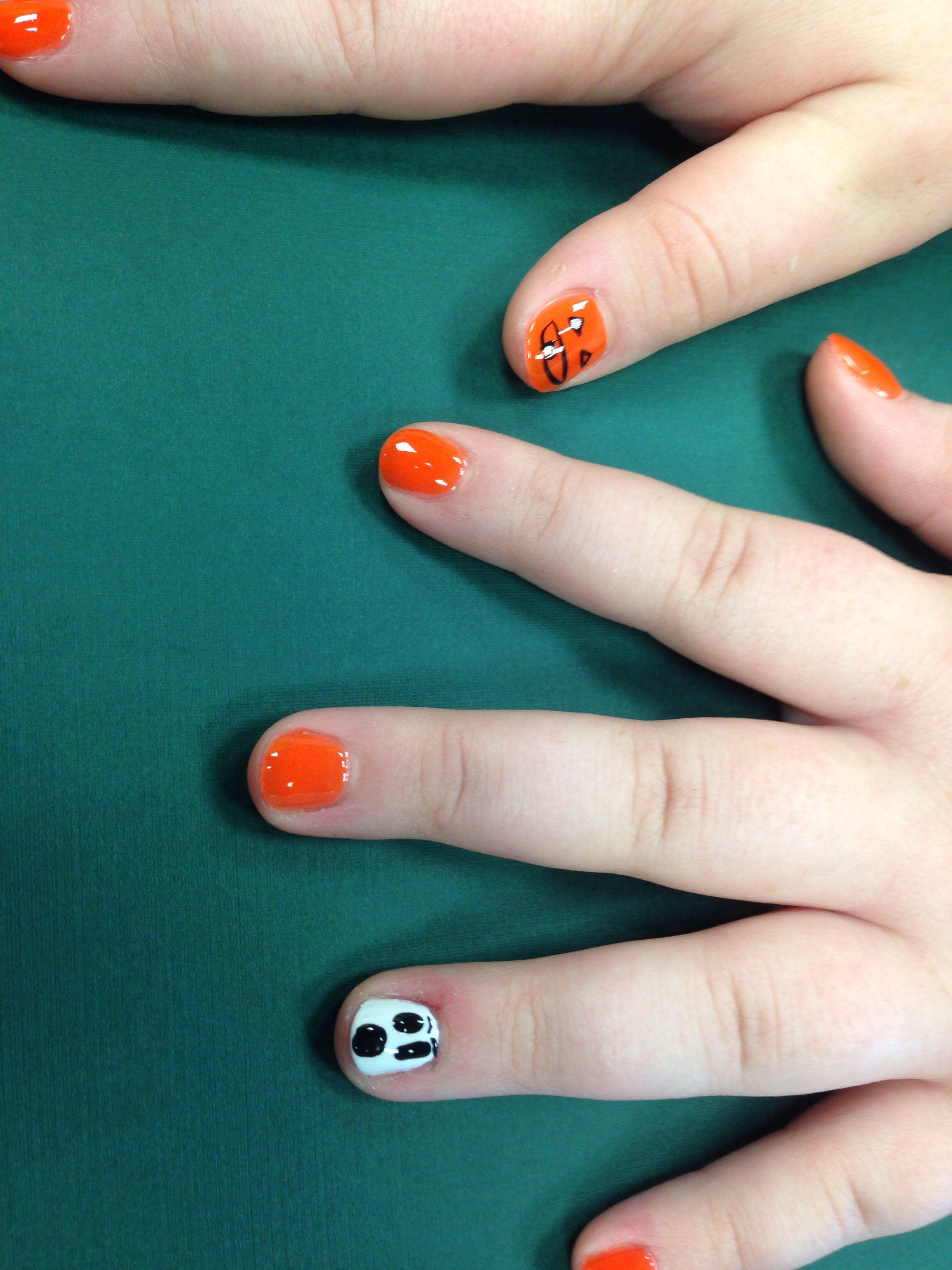 easy halloween nail polish designs