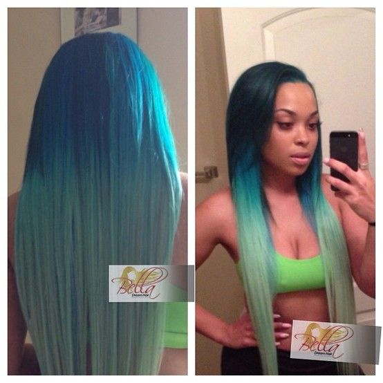 ... else do you say girl get cha life then with this hair #GORGE #COLOR