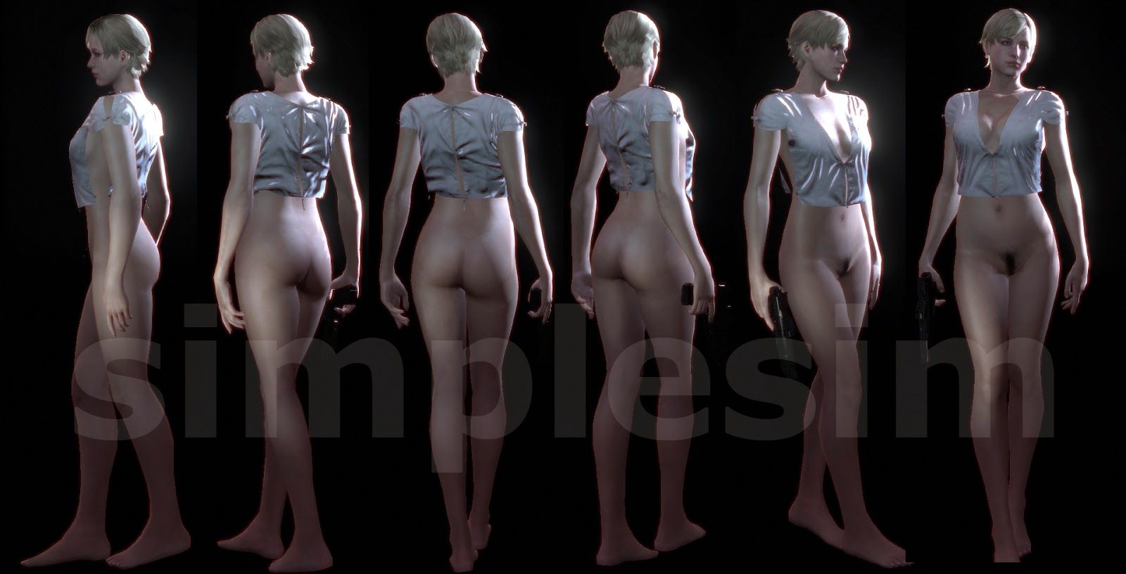 Nude patch for resident evil adult video