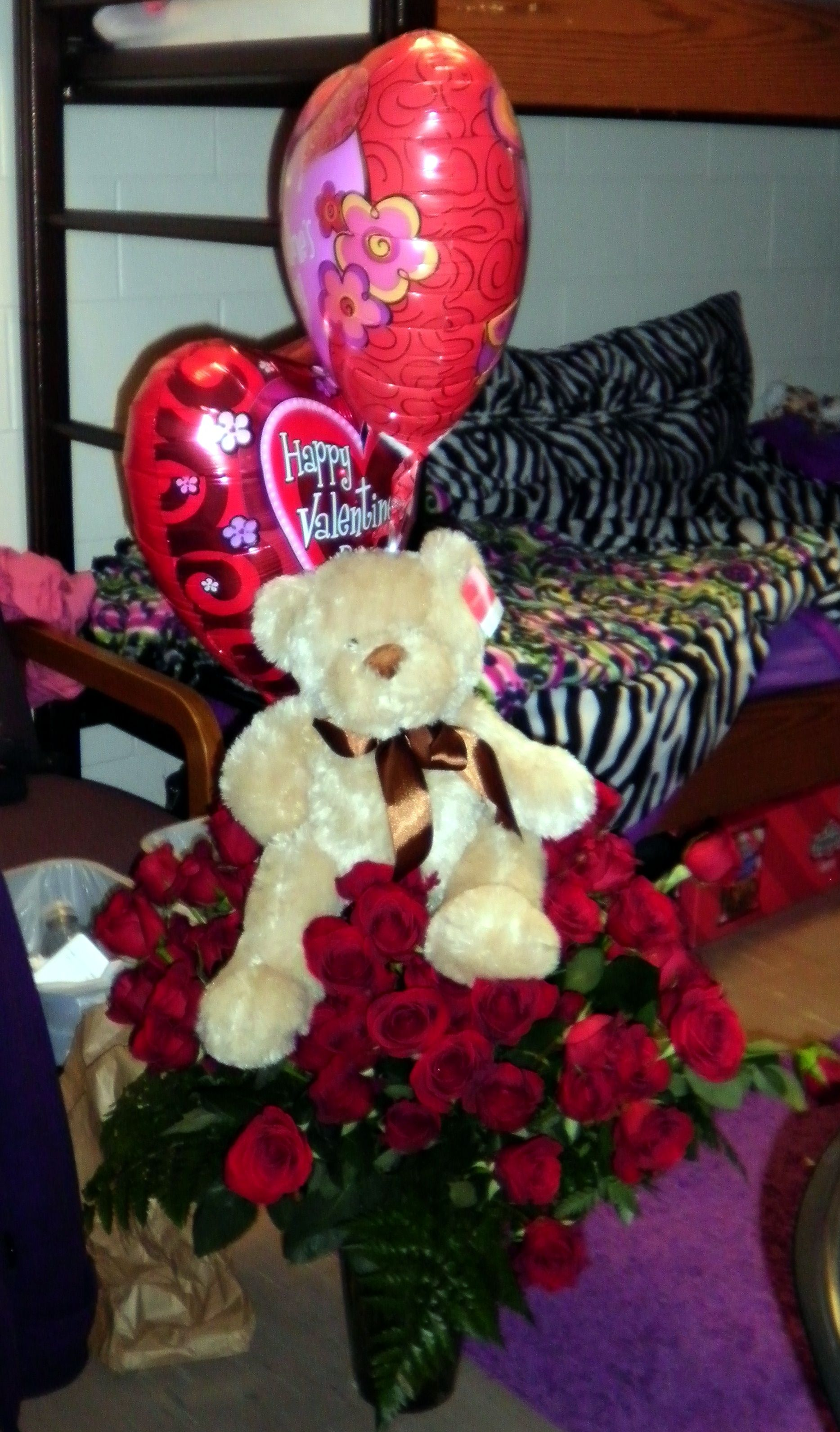 valentine's day red teddy bear