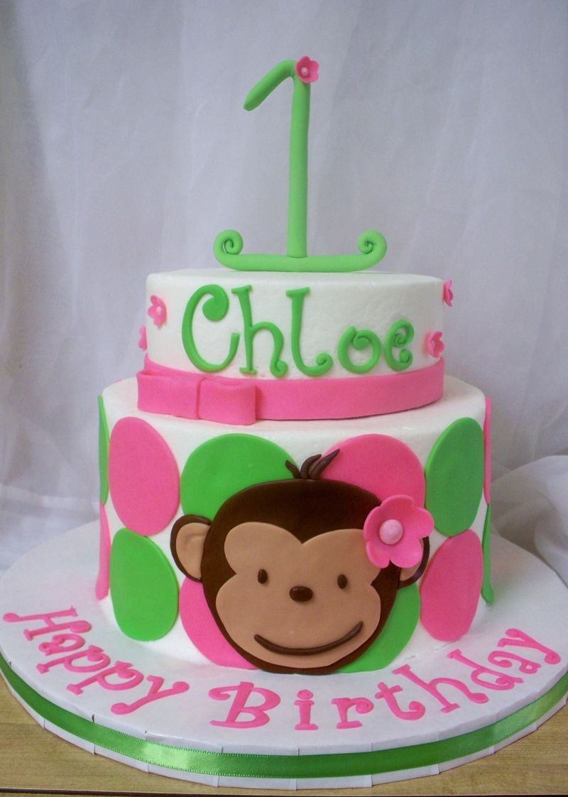 Monkey Cake Ideas Pinterest