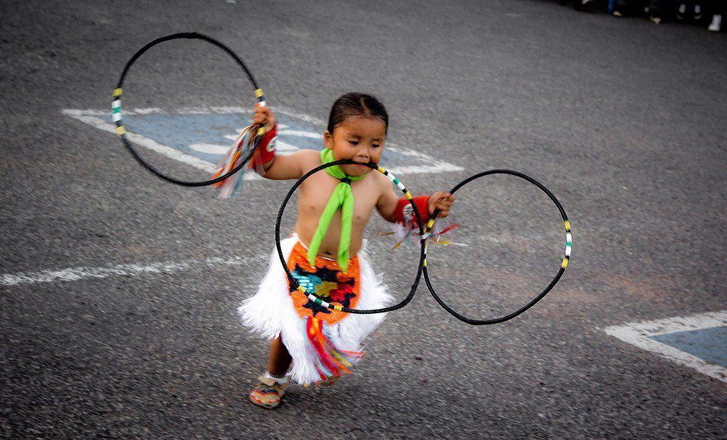 New Generation Of Hoop Dancers