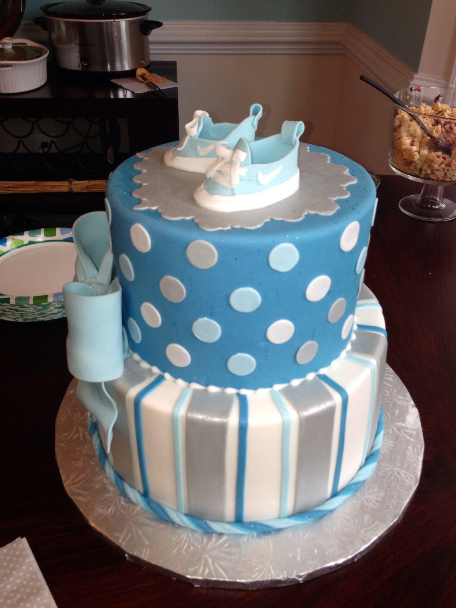 baby shower boy cake idea kassi pinterest
