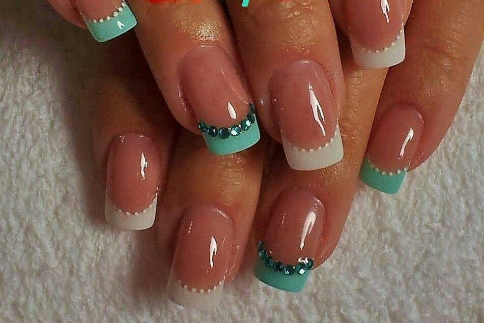 Attractive Nice Simple Nails Ornament - Nail Paint Design Ideas ...