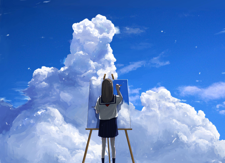 イラスト 綺麗 空 壁紙