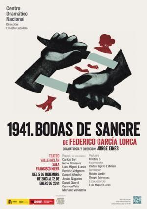 Cartel 1941 Bodas de sangre
