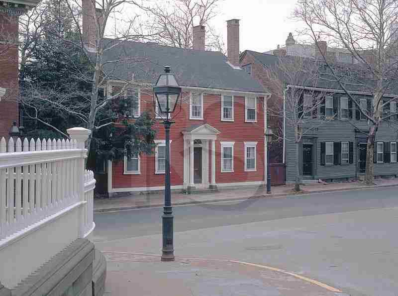 New England Colonial Home Exteriors And Beautiful Doors