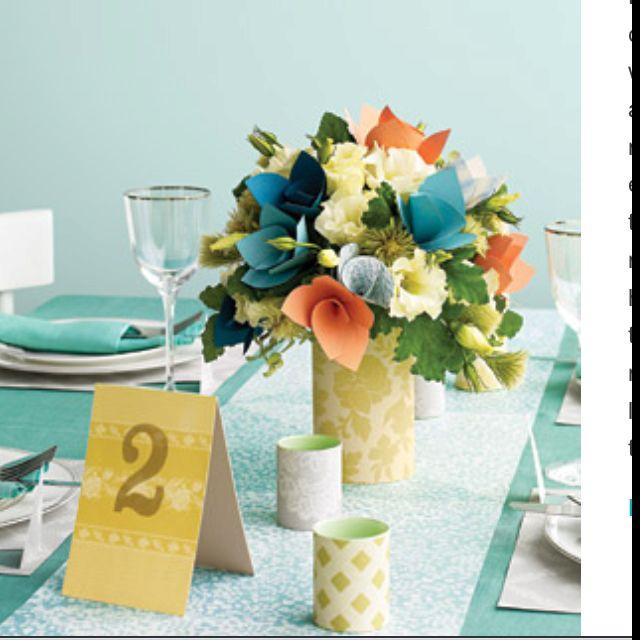 Paper flower centerpiece gift craft ideas pinterest