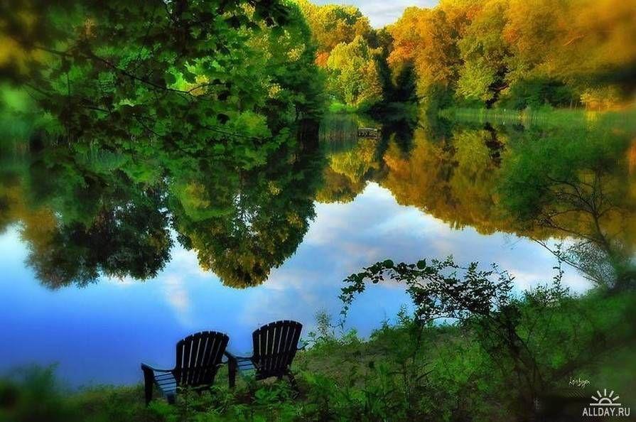 beautiful fall scenic view - photo #14