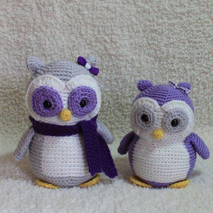 Ravelry Crochet Owl Family Amigurumi Pattern Pattern By ...