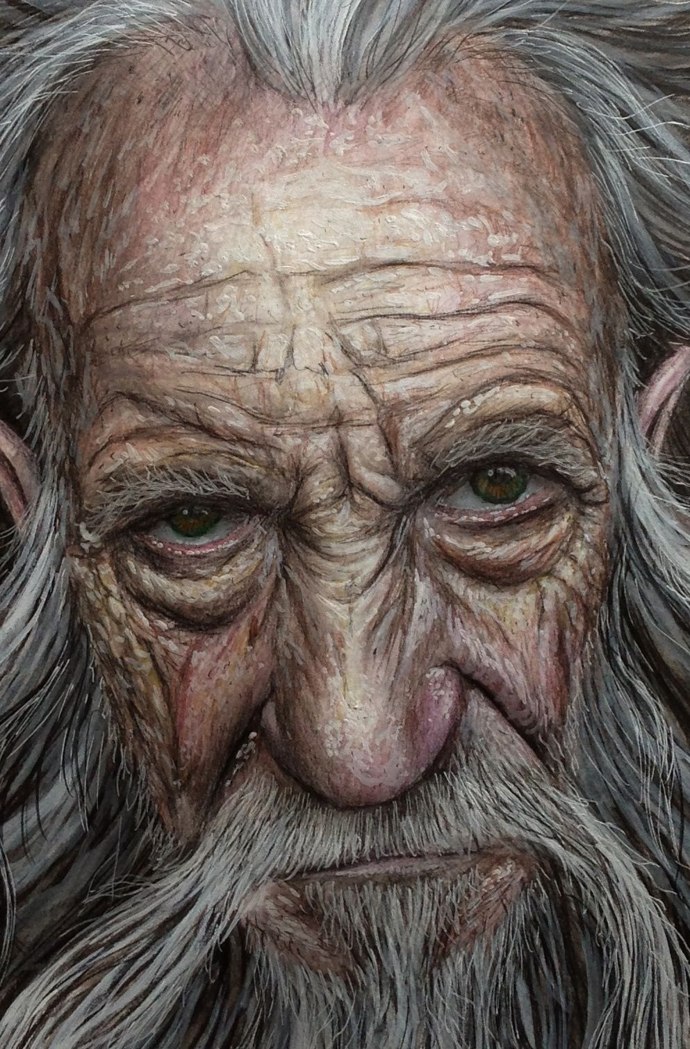 how to draw realistic portraits with colored pencils