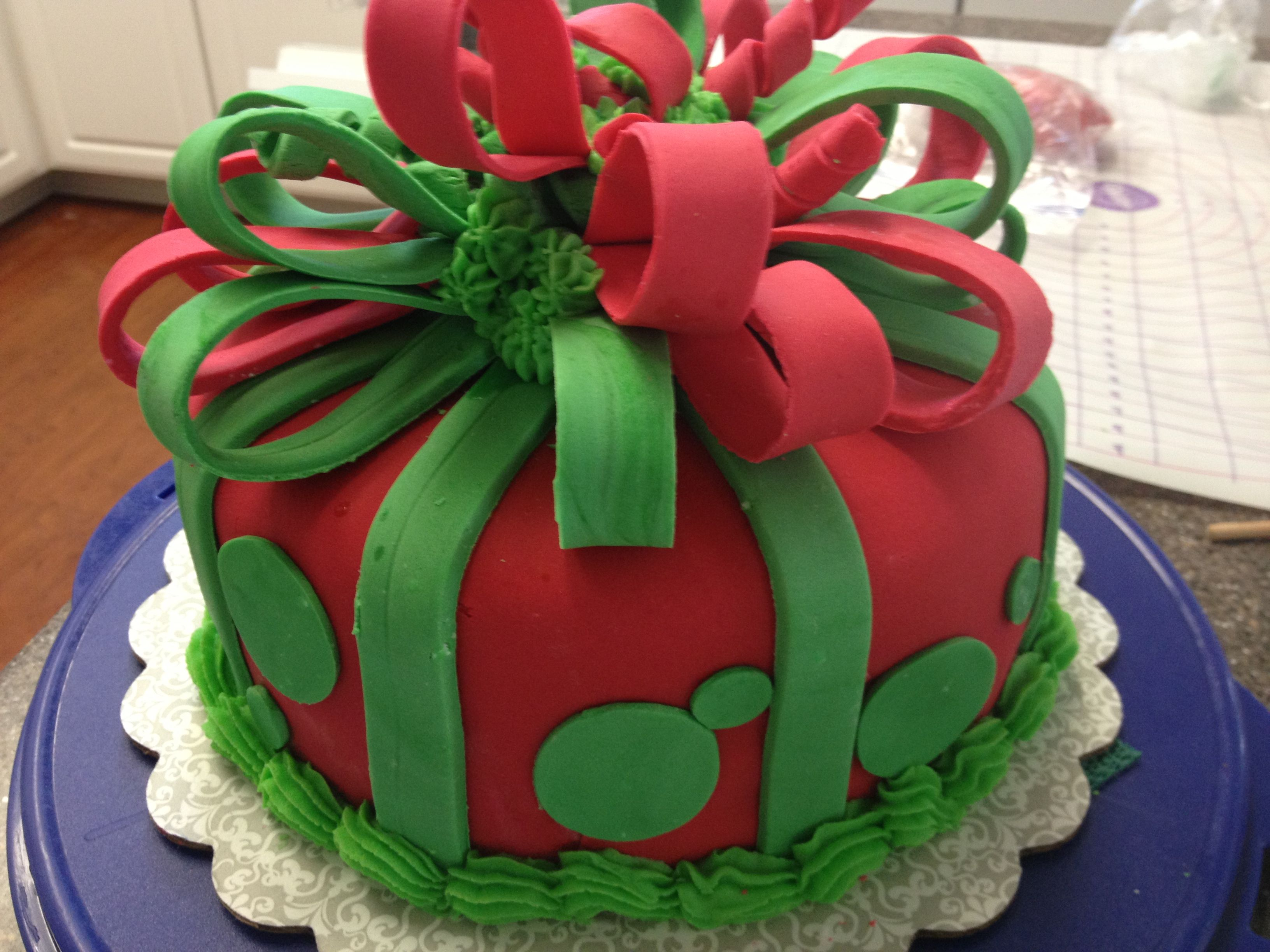 Christmas Cake Designs Pinterest : Christmas cake Cake Decorating Pinterest