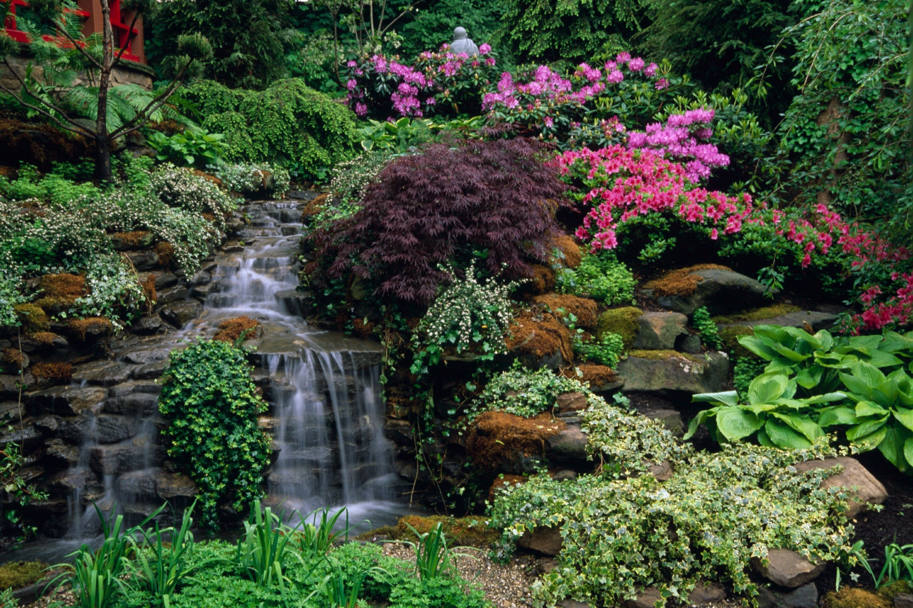 The Pattie Group 39 S Waterfall At The Cleveland Botanical Gardens A Lovely Place To Walk Around