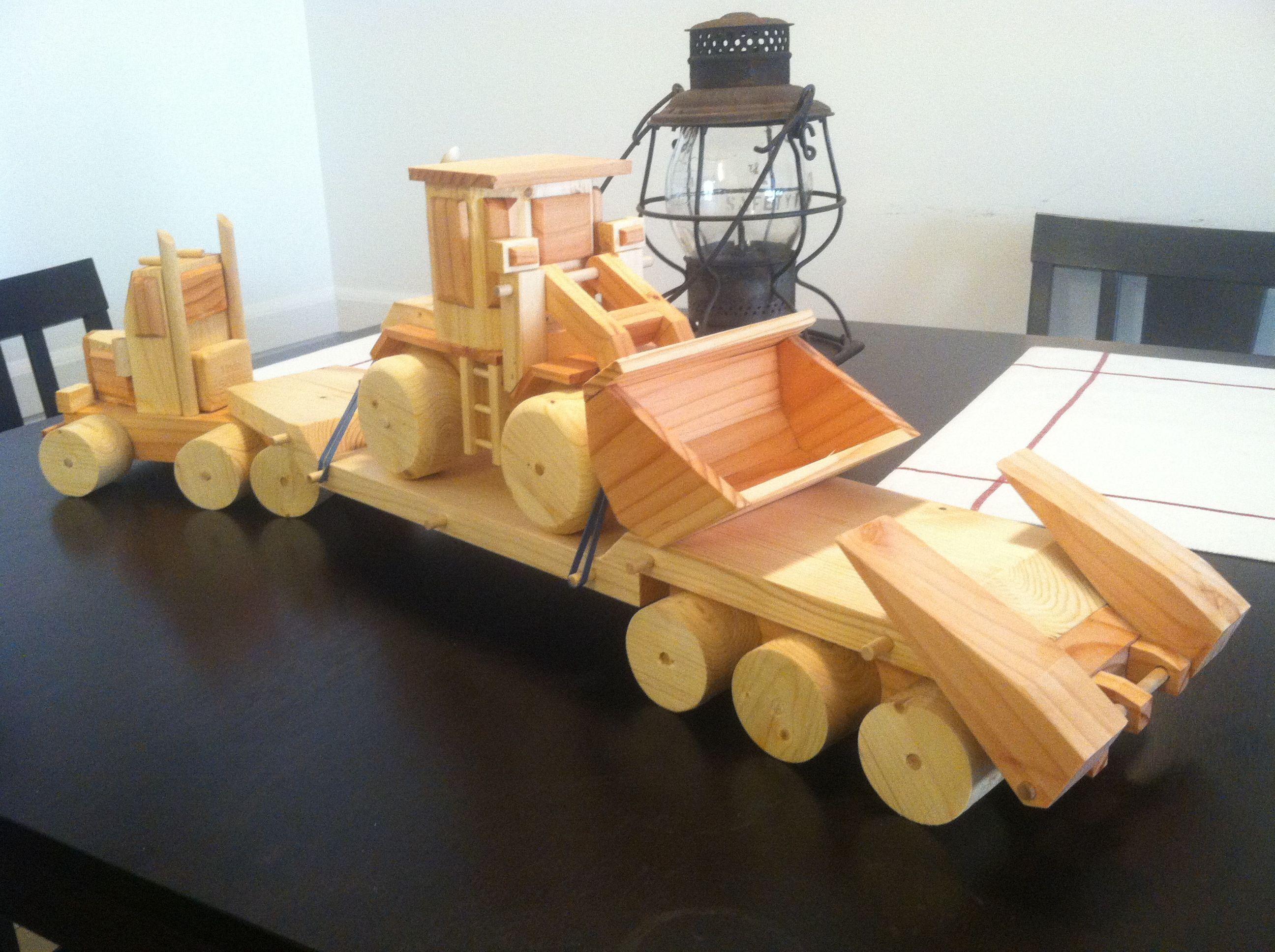 Pin by Blain Bennett on wooden toy trucks | Pinterest