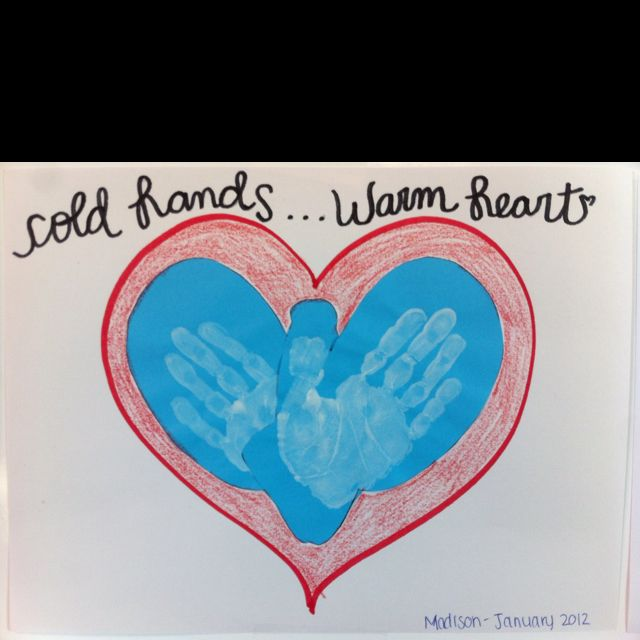 Cold hands warm heart stinky feet