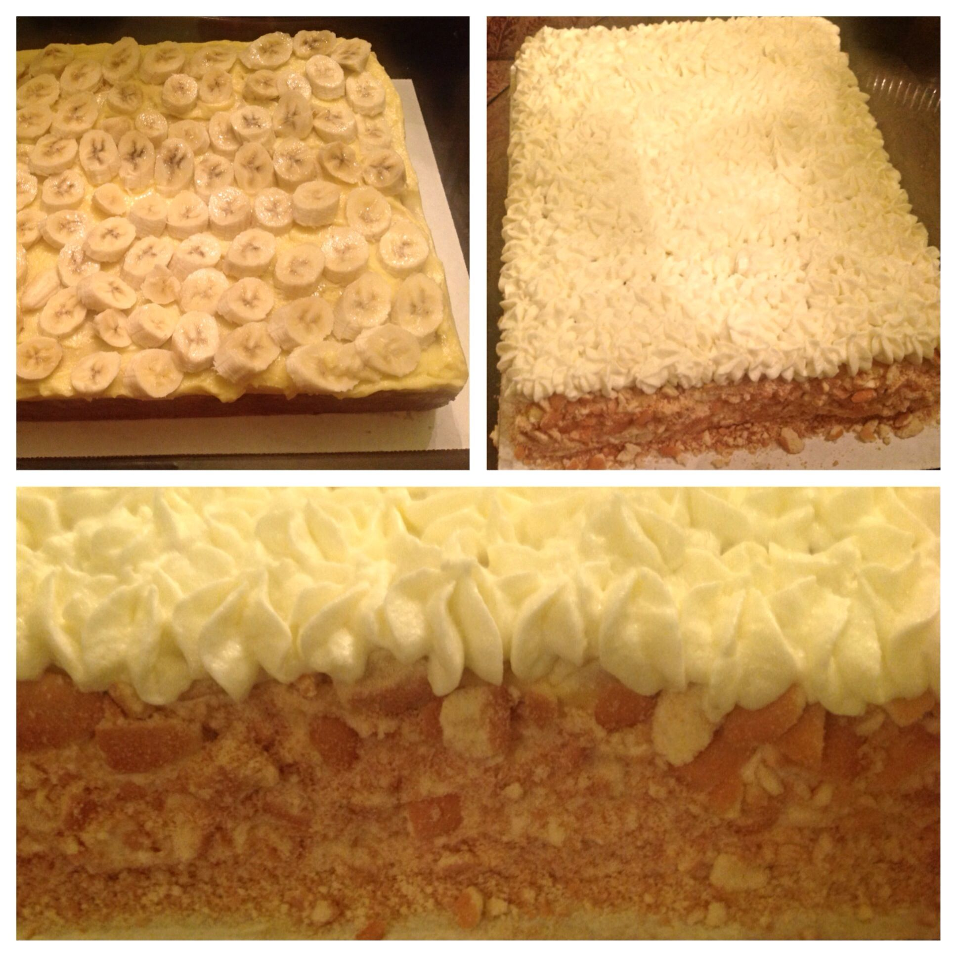 Banana Pudding Sheet Cake | Cookies, cakes and other yummy treats | P ...