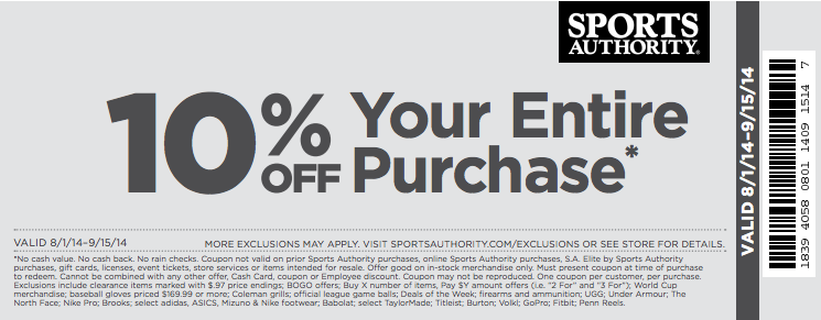 Yahoo sports store coupon code 2018