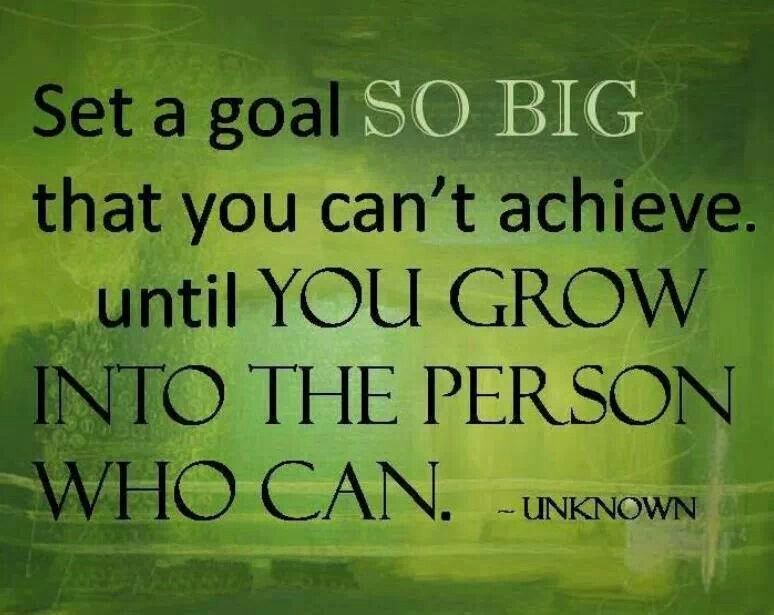 """an analysis of the achievable goals that people set in life """"if you want to live a happy life, tie it to a goal, not to people or set goals in multiple life you to become the person it takes to achieve them."""