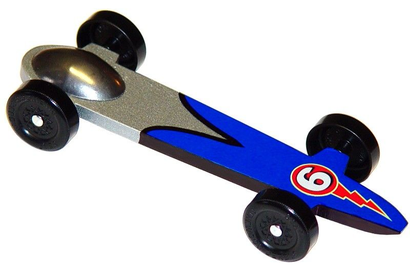 Templates for pinewood derby cars