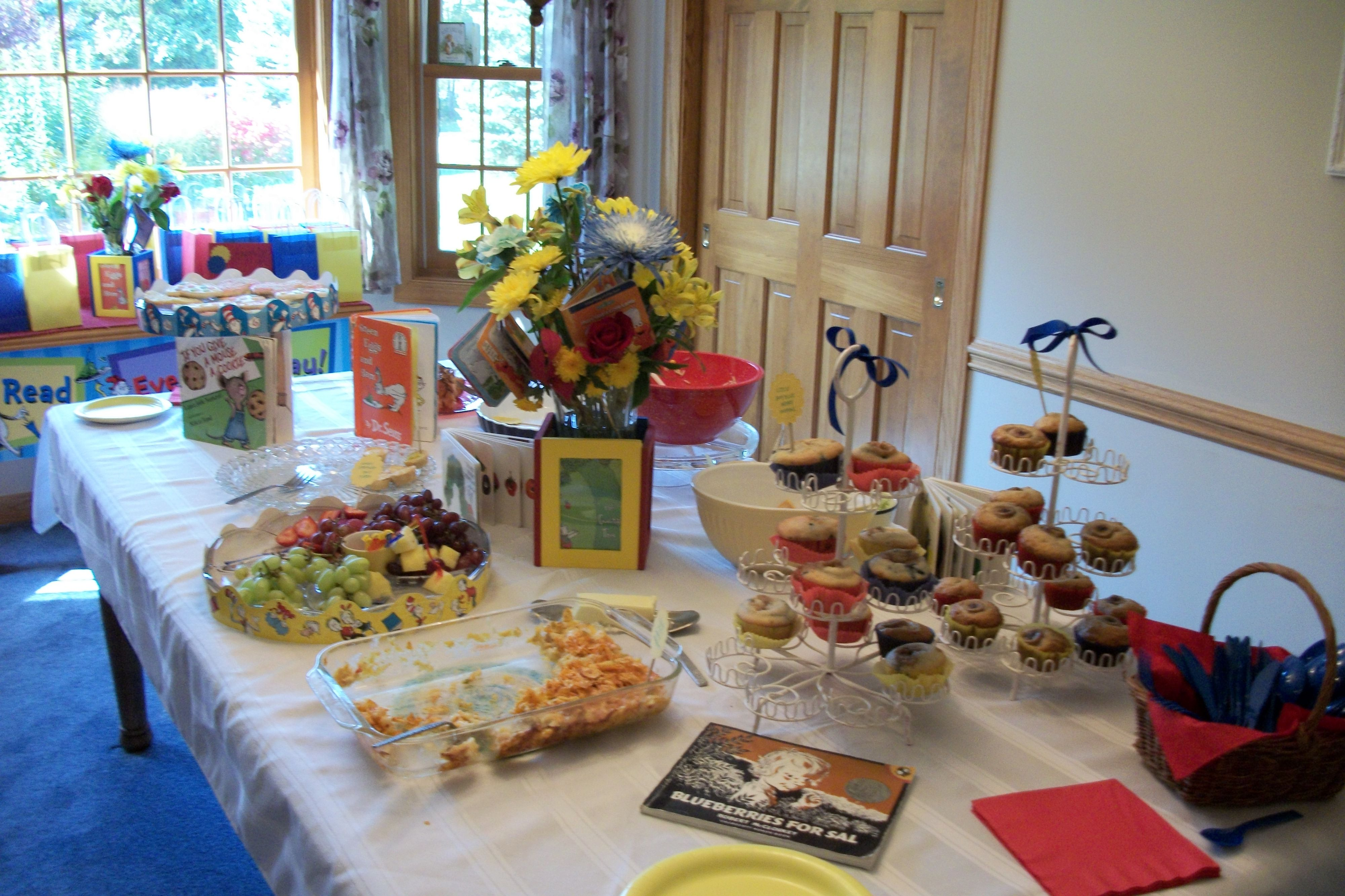 storybook theme baby shower party ideas pinterest