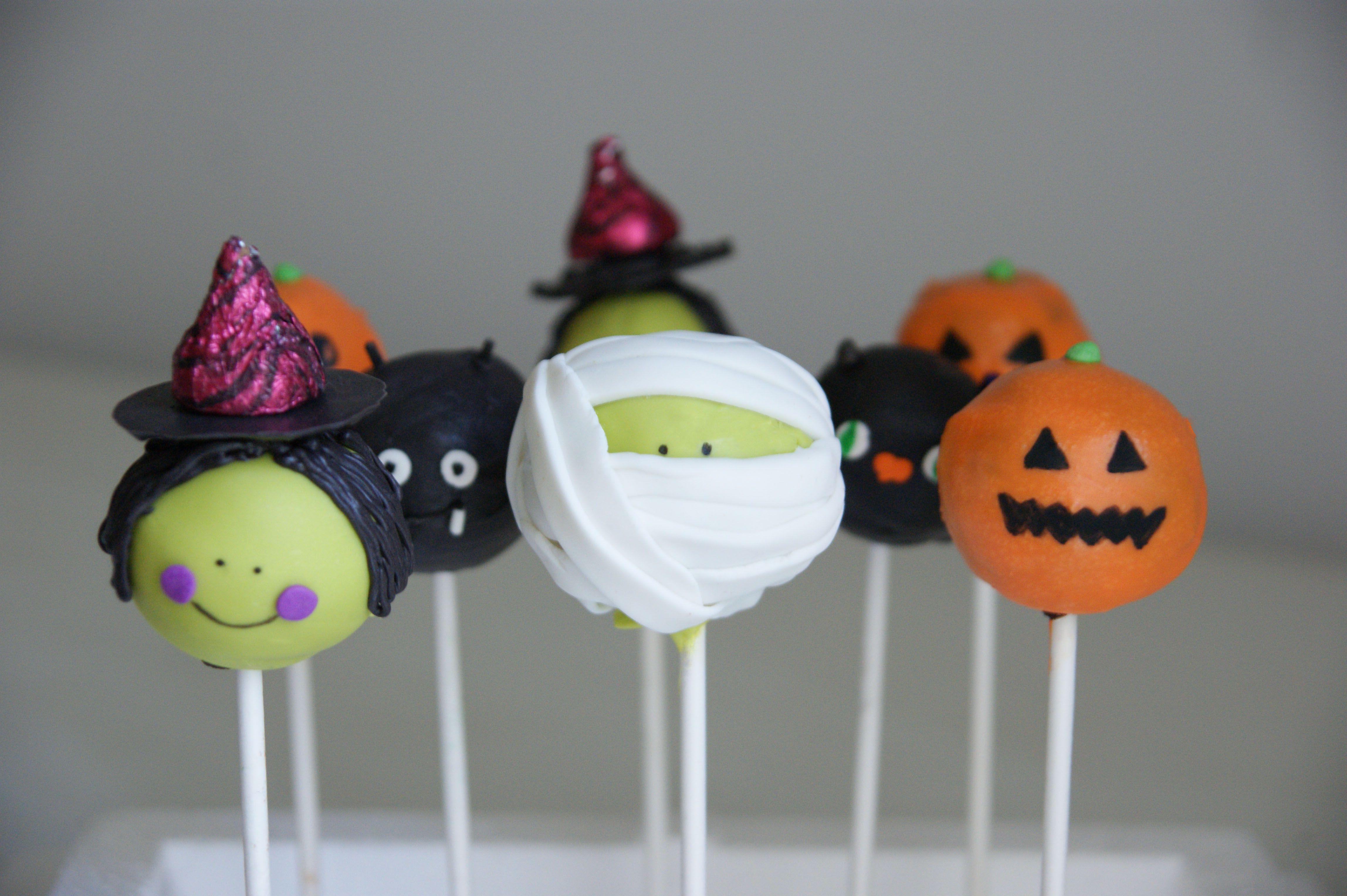 Halloween Cake Pops | Fiesta | Pinterest