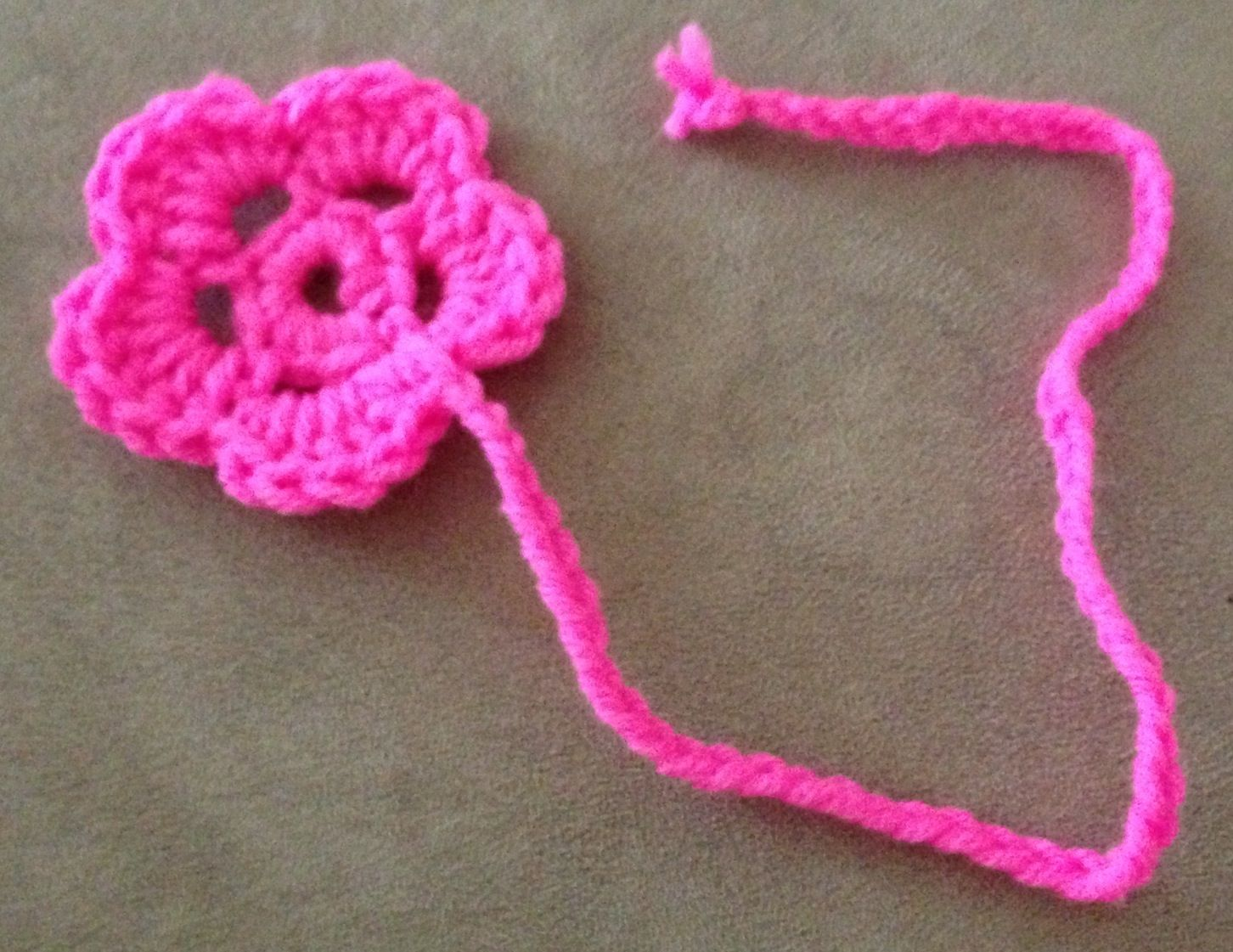 Crochet Bookmarks : Crocheted bookmark Crochet Bookmarks Pinterest