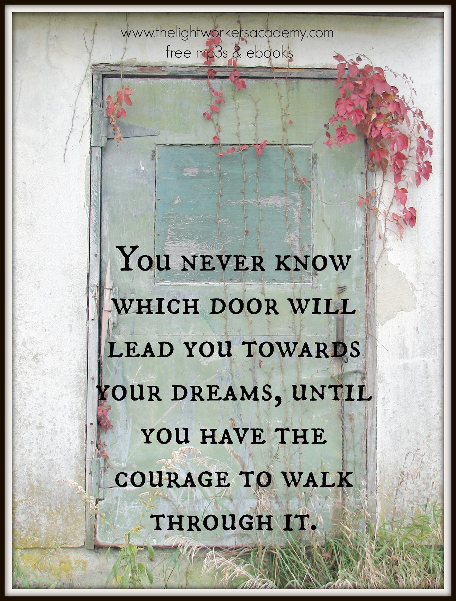 Which door inspirational sayings pinterest for Door quotation