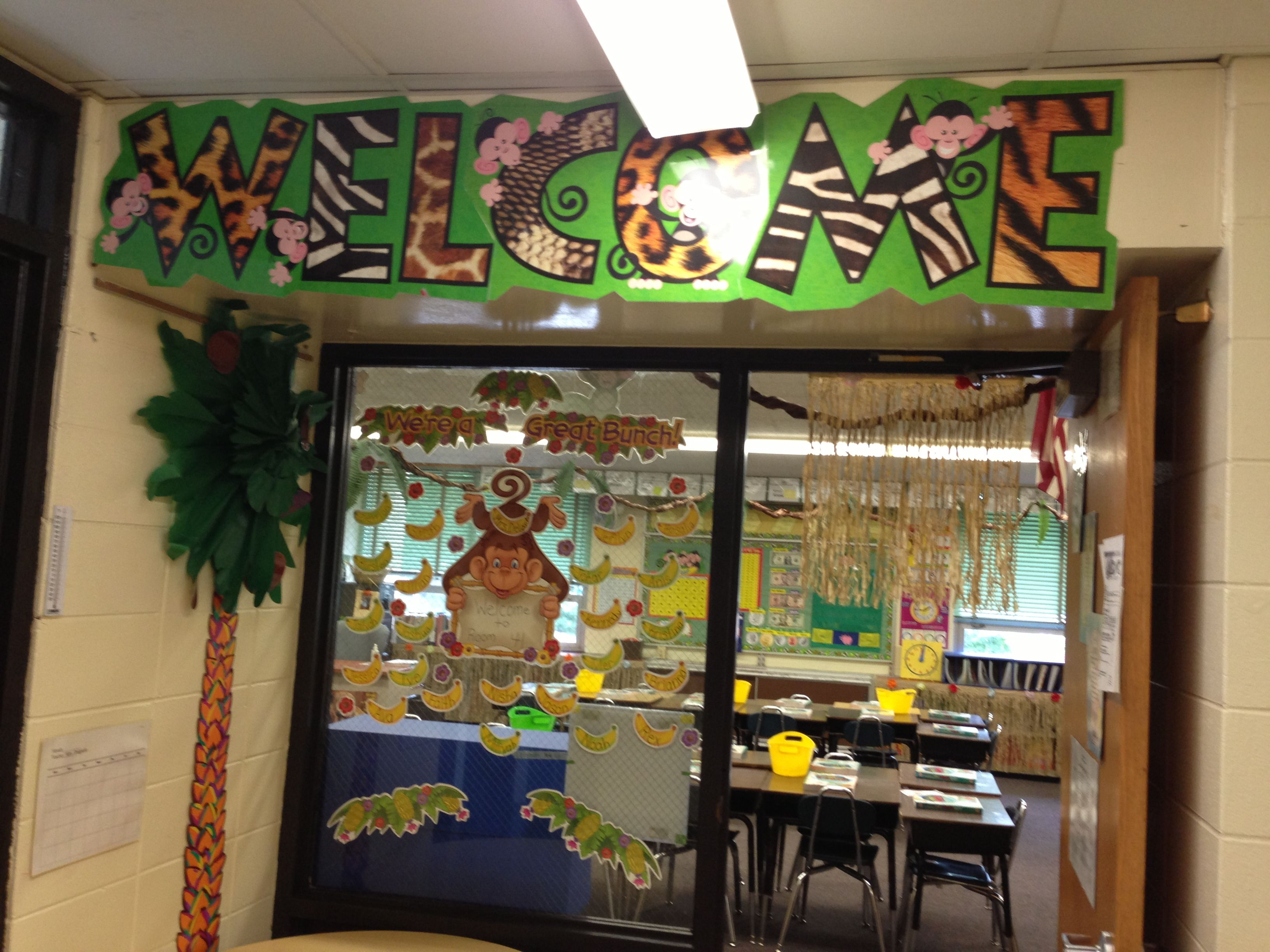 Forest Themed Classroom Decorations ~ School is a jungle quotes quotesgram