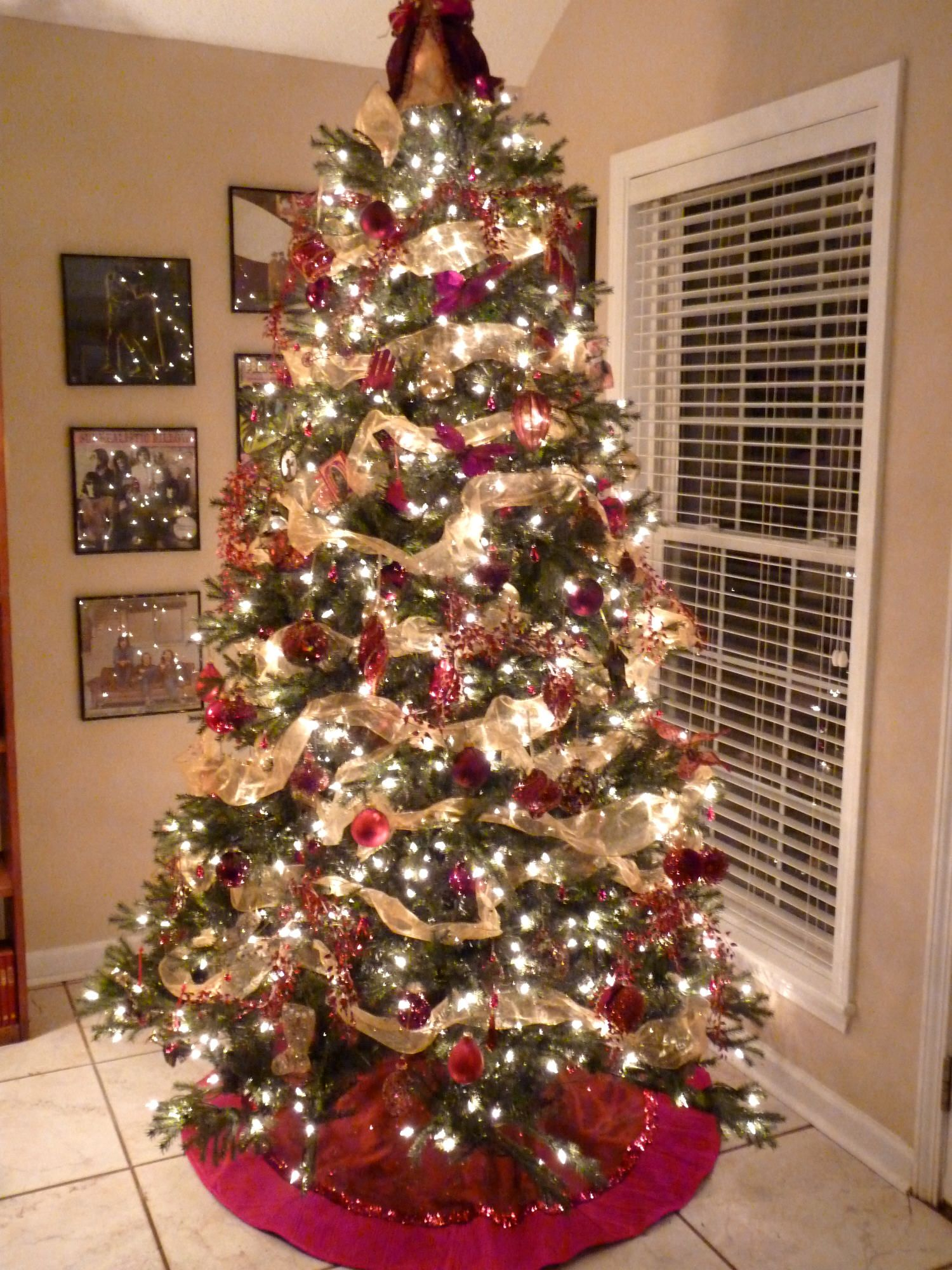 Beautiful Tree Christmas Ideas Pinterest
