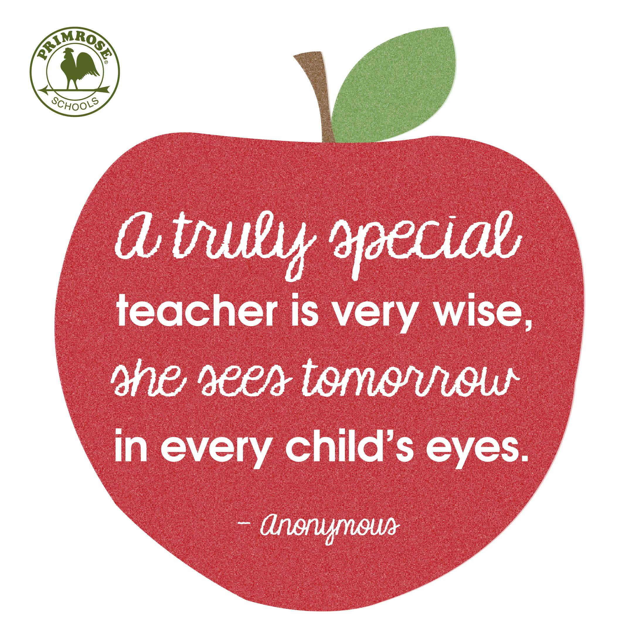 Special Quotes About Teachers. QuotesGram
