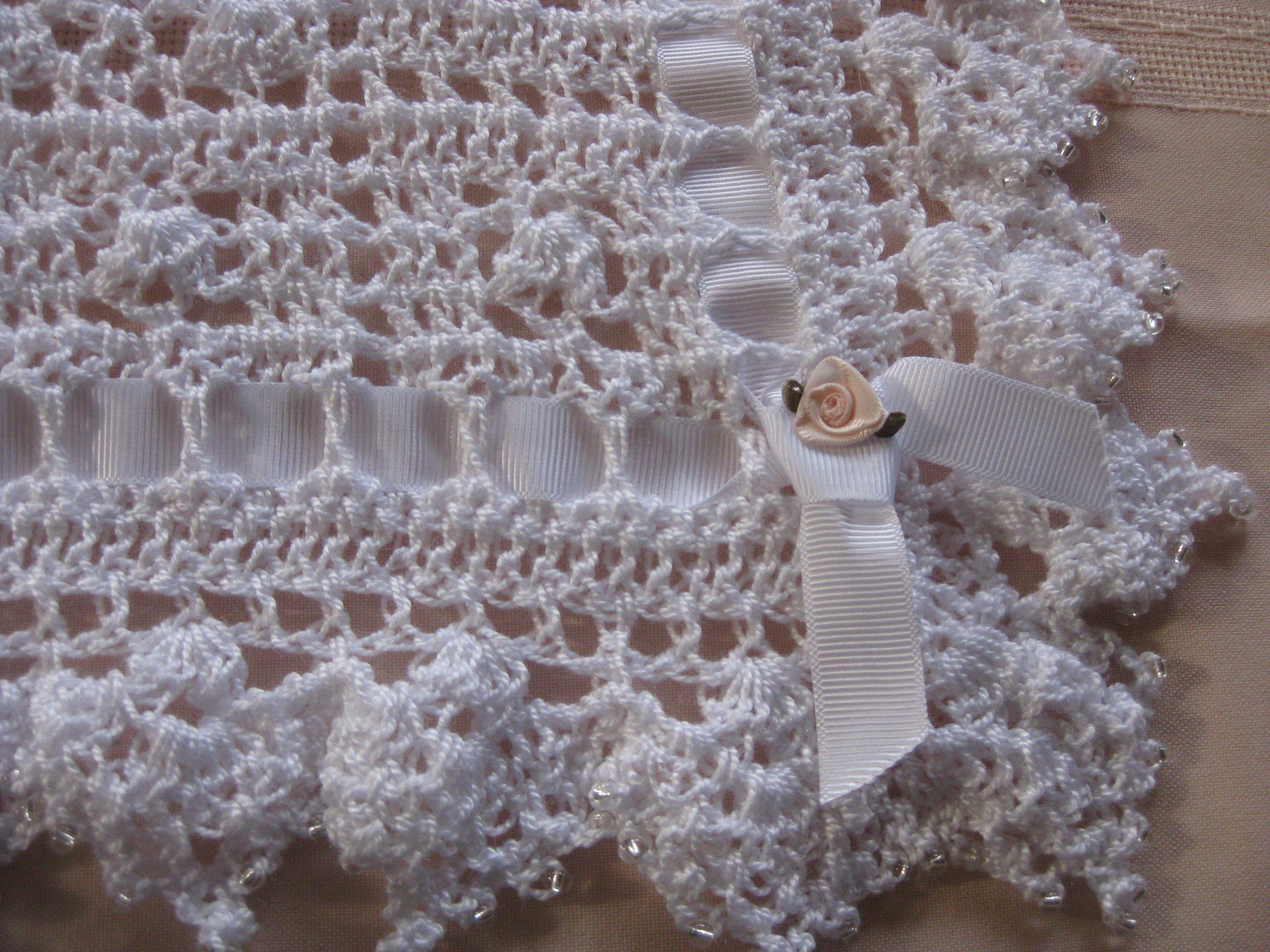 Crochet Pattern For Christening Blanket : Christening Blanket crochet patterns Pinterest