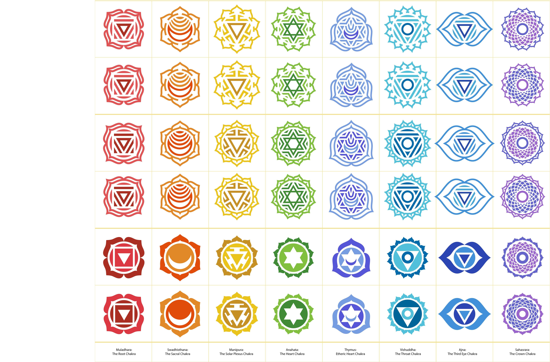 chakra symbols tattoos pinterest