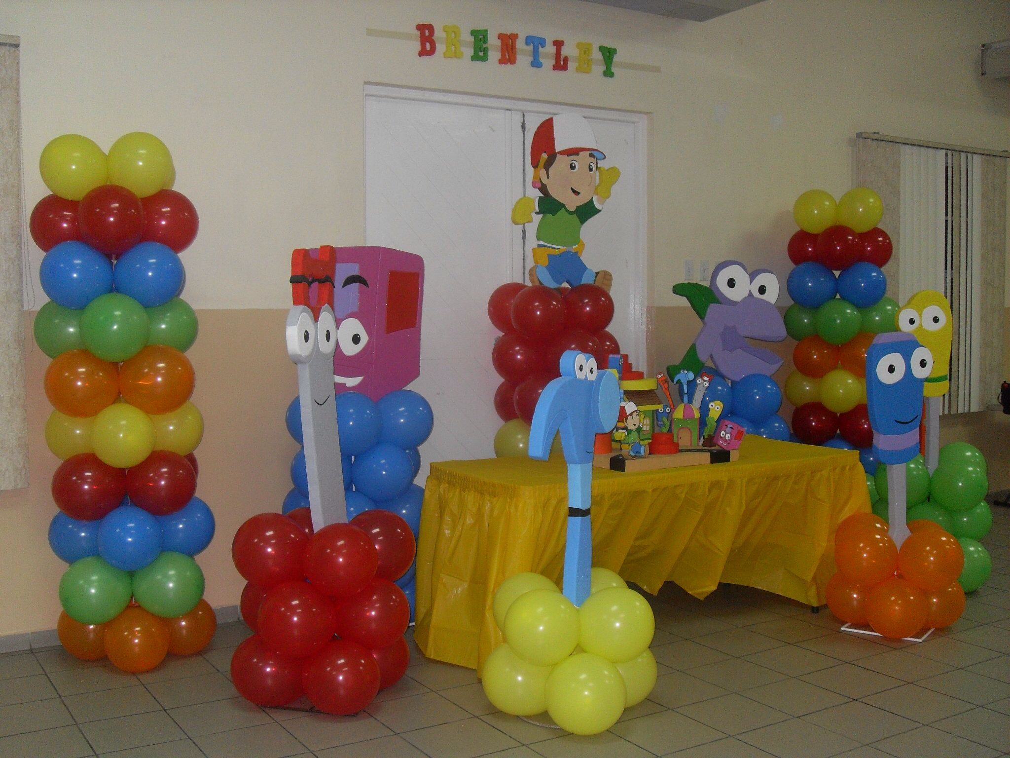 handy manny party party ideas decorations pinterest