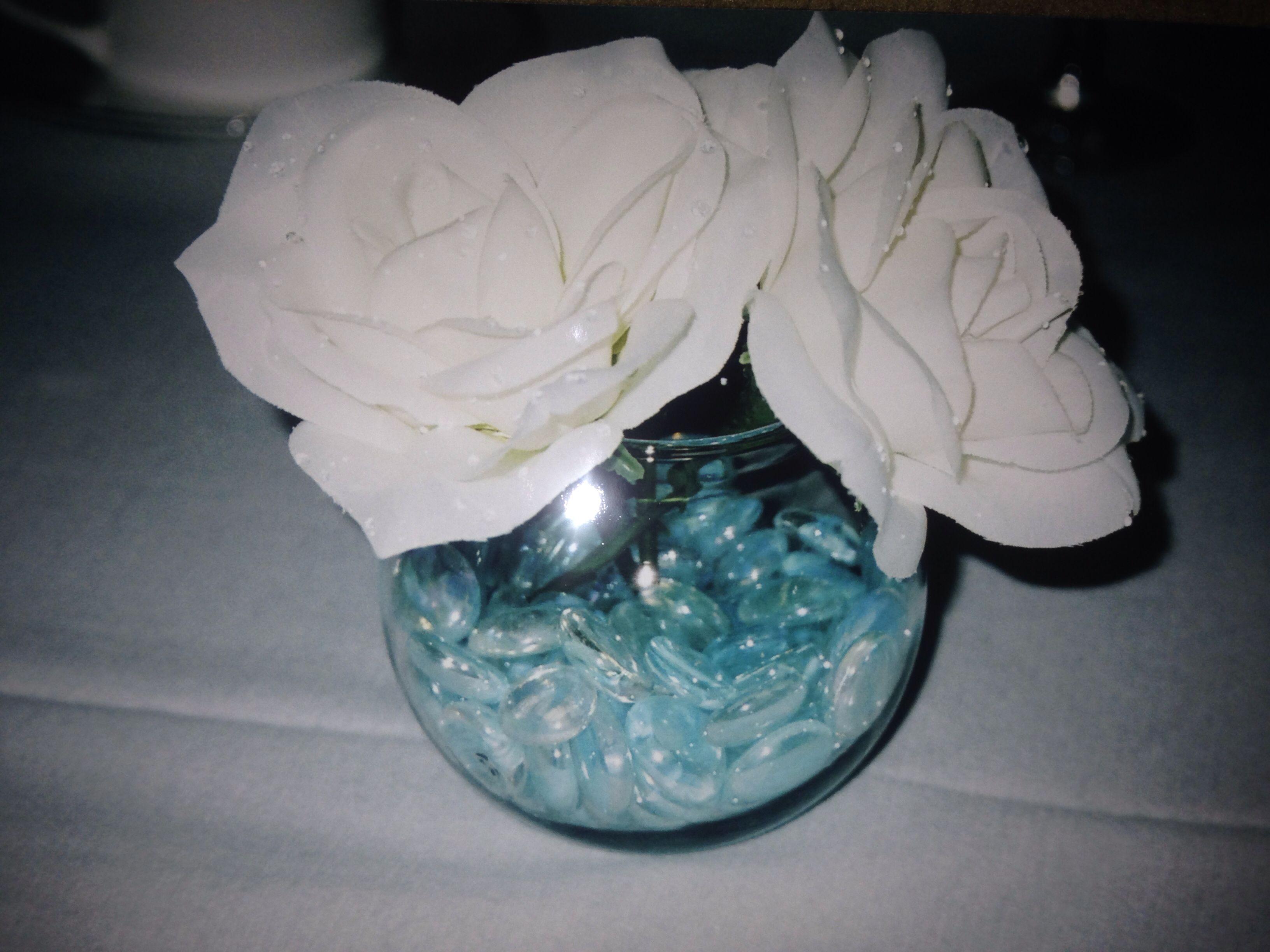 Elegant baptism centerpieces ideas pinterest
