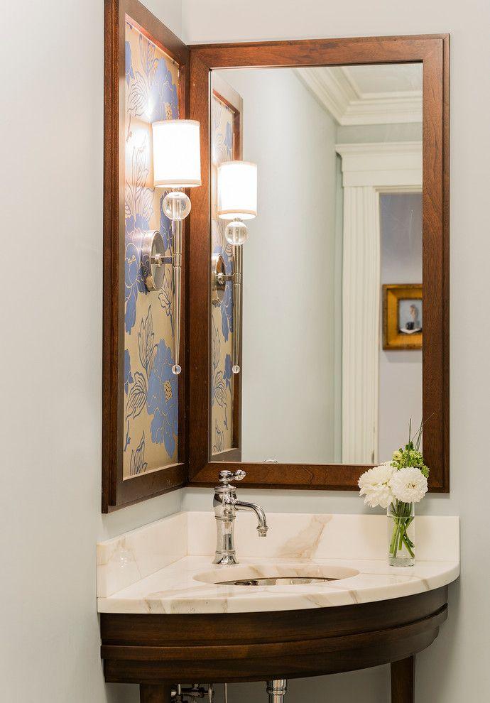 Corner sinks for bathroom