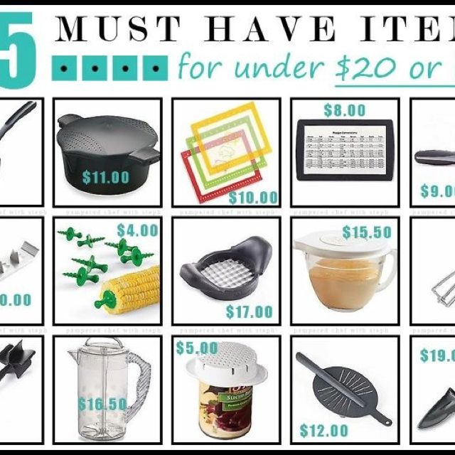 Erica's 5 Pampered Chef MUST Haves. November 1, By Erica Eckman. giveback.cf When I heard that one of my favorite culinary companies, The Pampered Chef, was giving $off all online orders this month, I knew I HAD to blog about them. So those are my Top 5 products to buy at Pampered Chef!