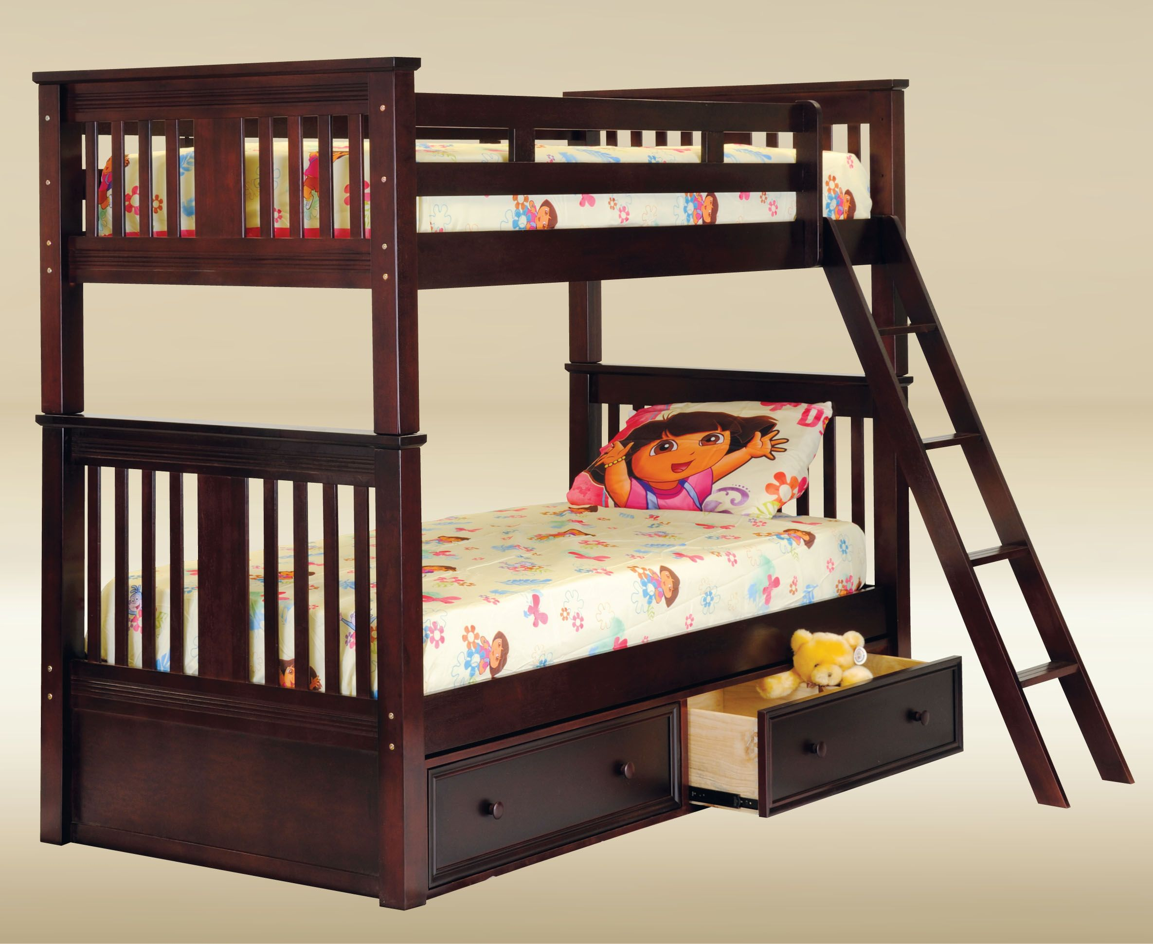 Mission Style Bunk Bed Bunk Beds Pinterest