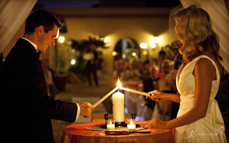 Unity Candle Ceremony At Aldea Weddings