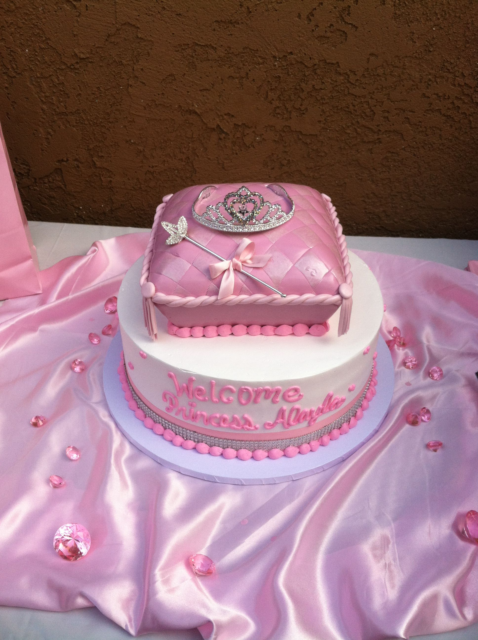 princess baby shower cake cakes pinterest