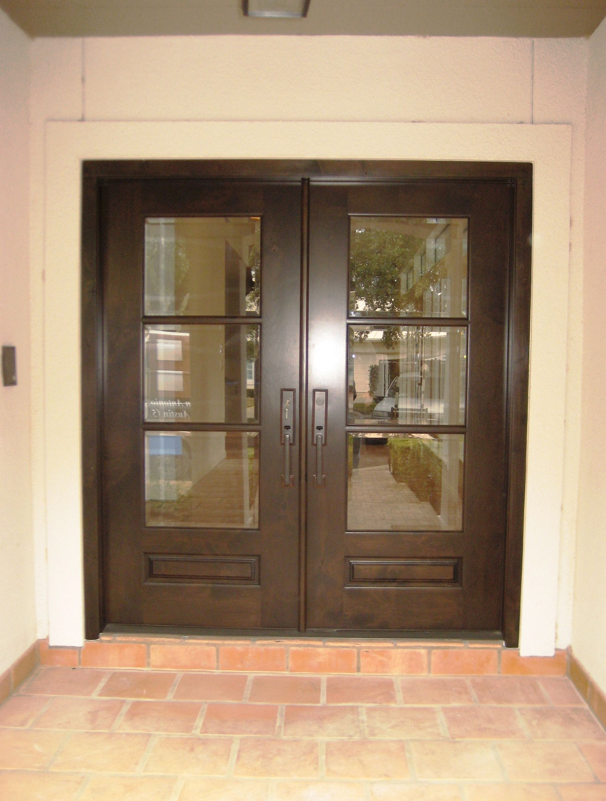 Pin by the front door company on modern wood door for Entry door companies