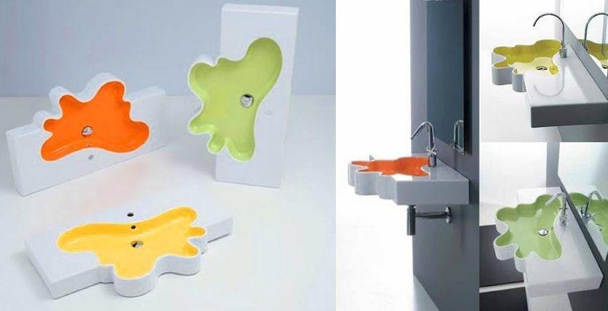 Bachas Para Baño Nuevas:Bachas de colores