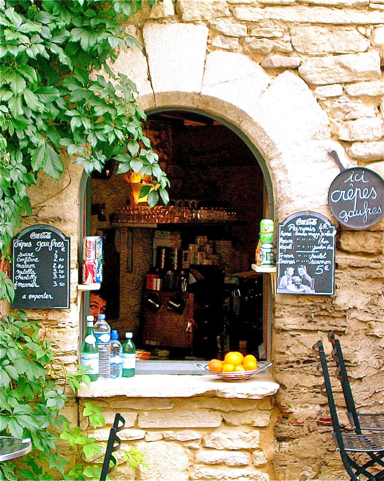 French cafe | Windows and Archways | Pinterest