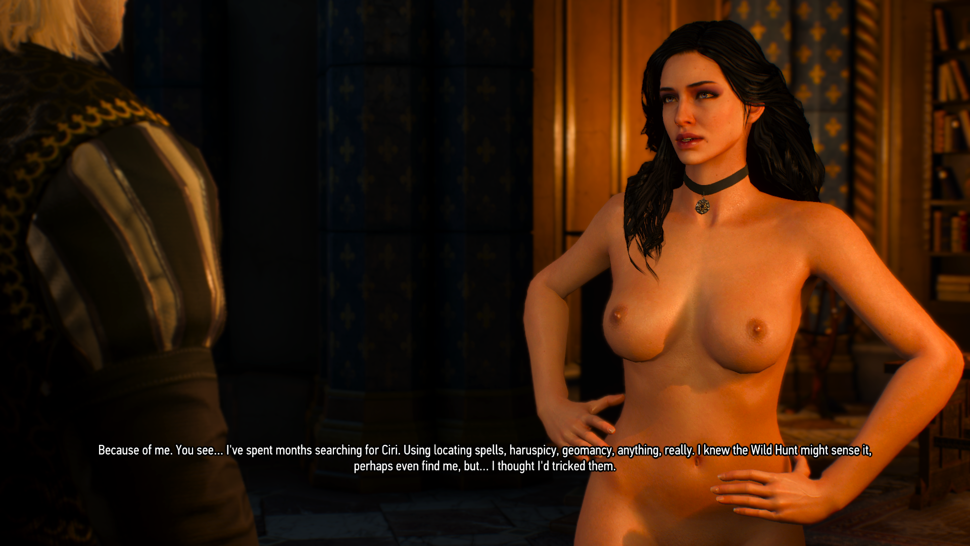 3 the naked witcher yennefer The Witcher's