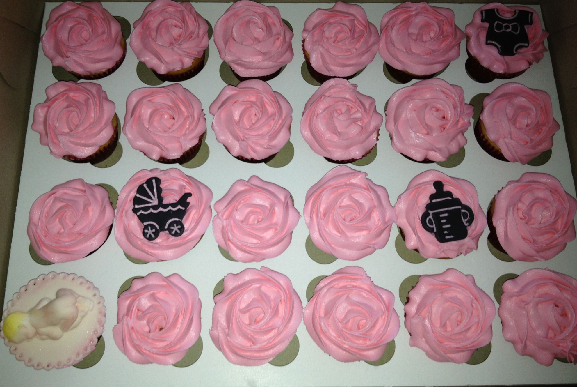 Baby shower cupcakes Kids cakes Pinterest