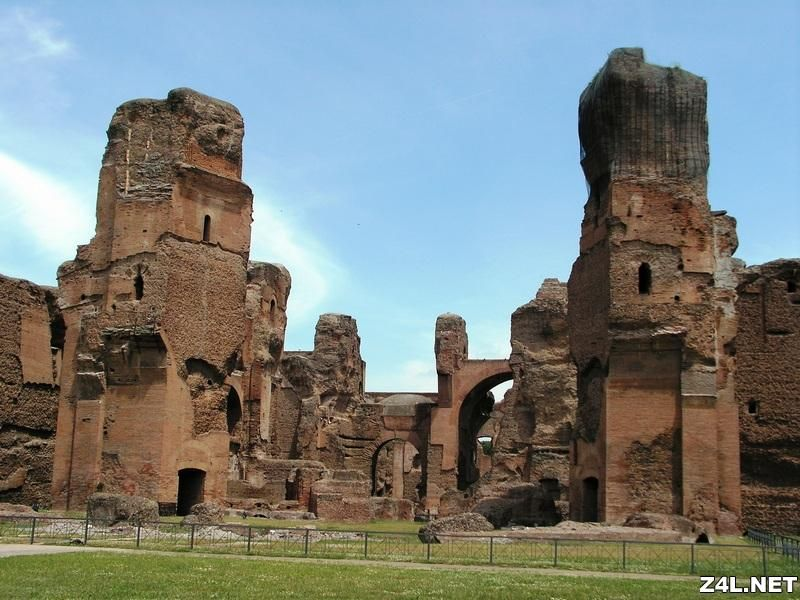 object space building place baths of caracalla. Black Bedroom Furniture Sets. Home Design Ideas