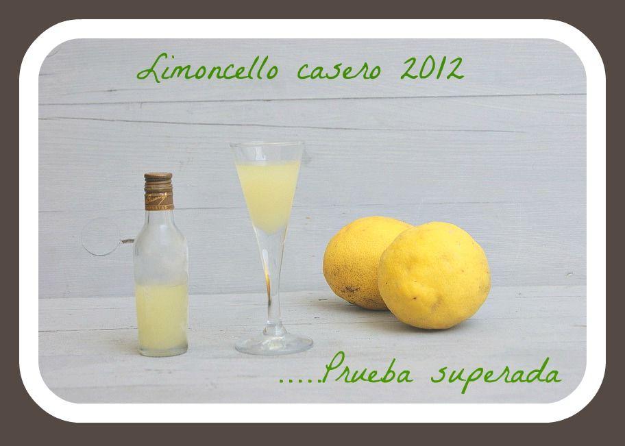 Limoncello casero | Atrapada en mi cocina | Pinterest