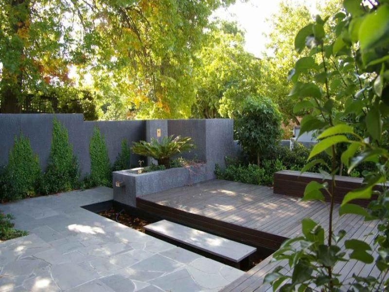Gardens 42 pinterest for Lanai garden designs