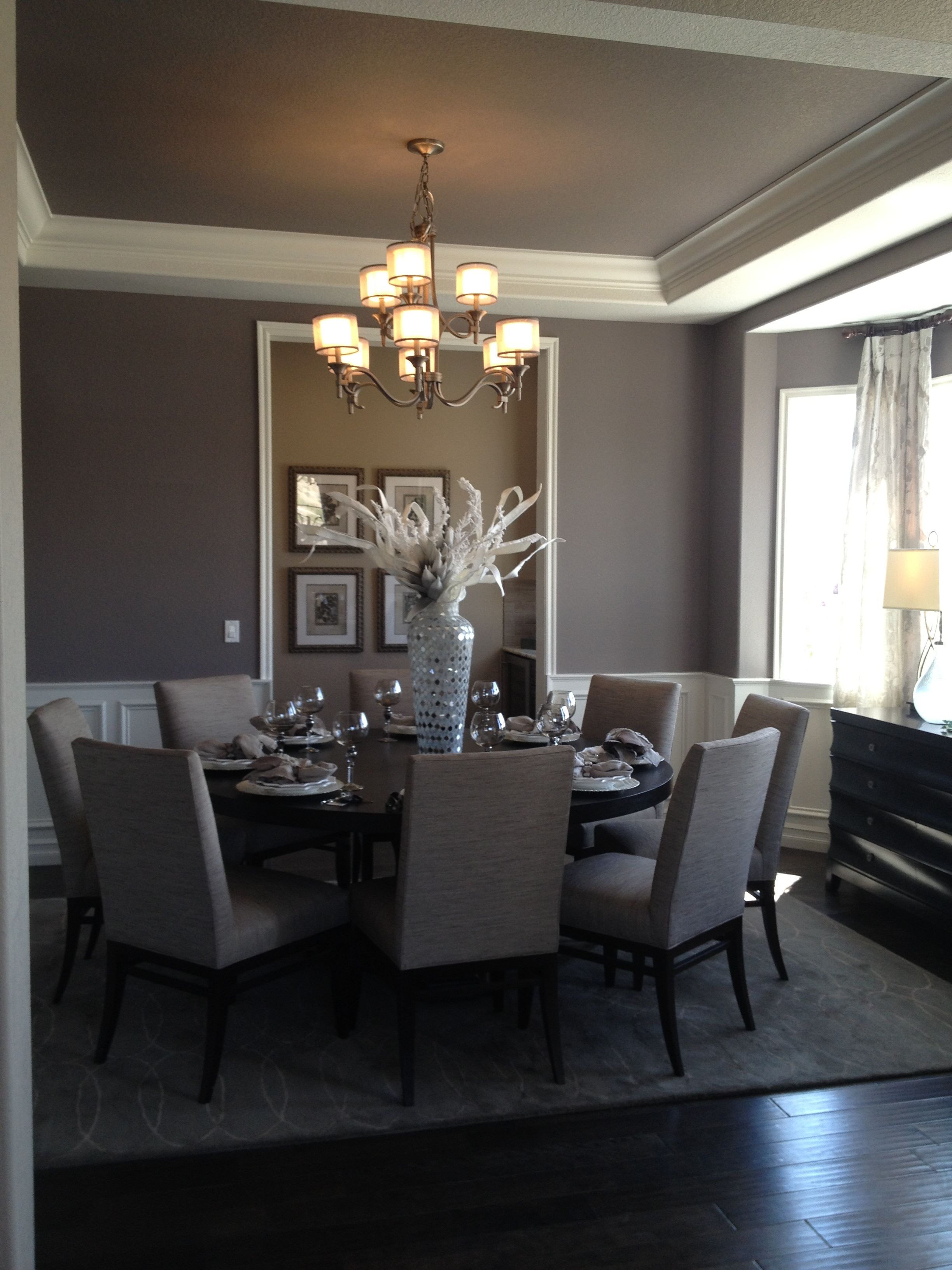 gray dining room round table for the home pinterest