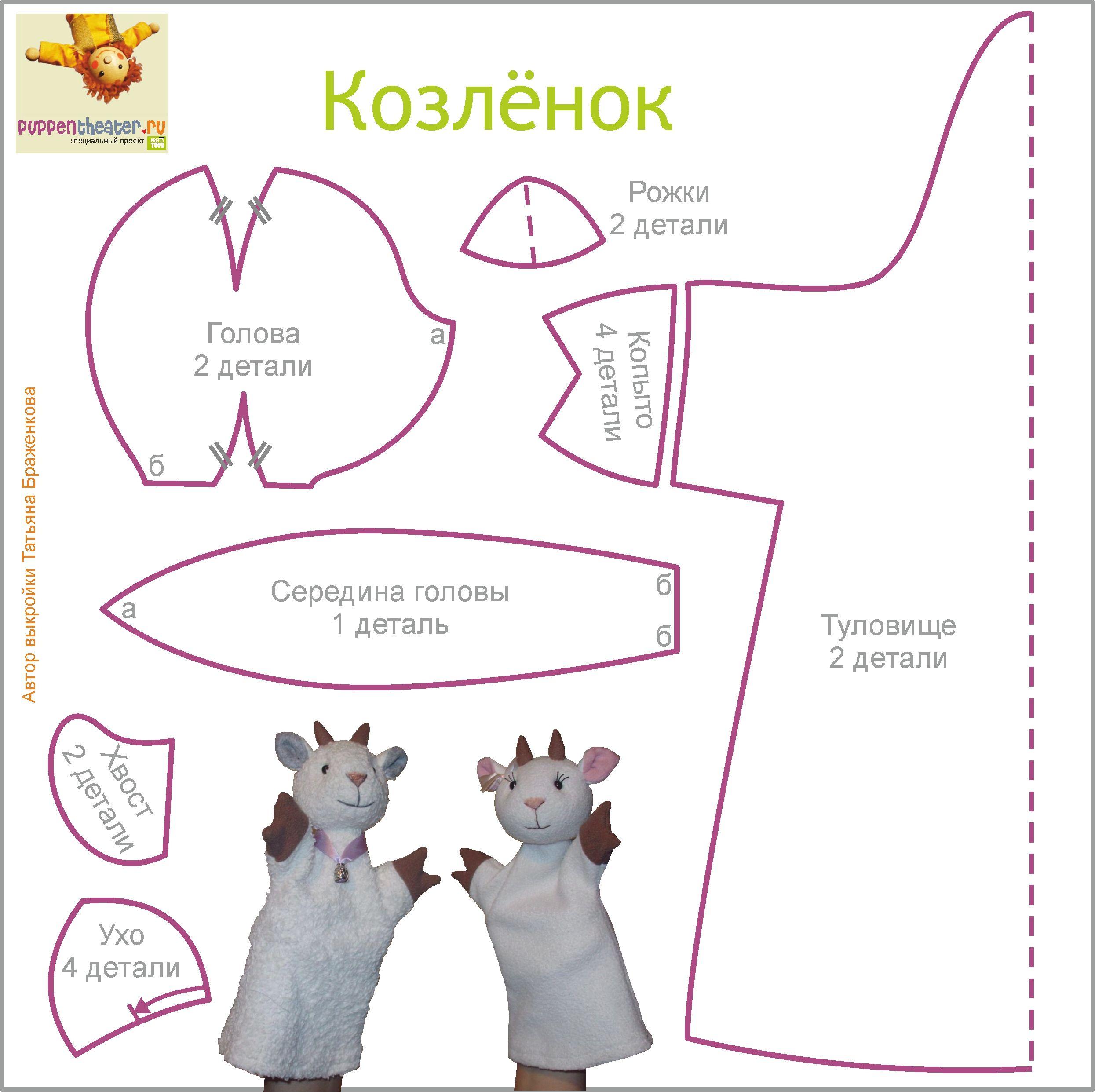 Кукольный театр волк своими руками